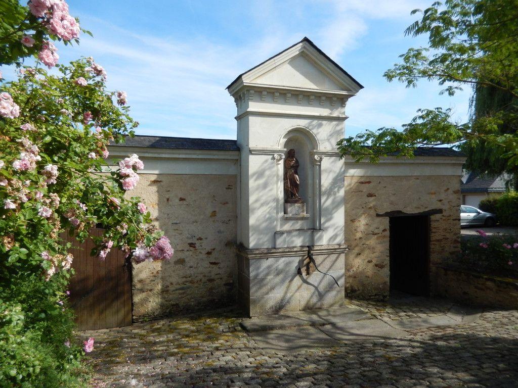 Fontaine et Lavoir Saint-Hélier - Challain-la-Potherie