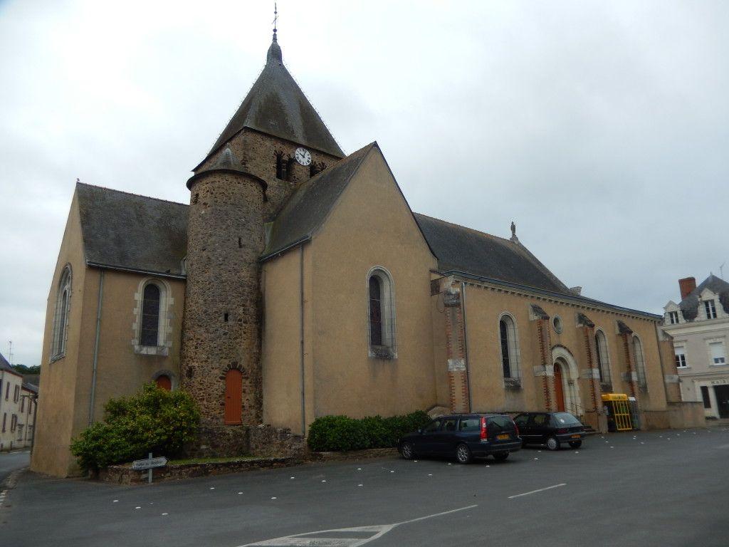 Eglise - Chazé-sur-Argos